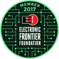 FAIREAD is a member of the Electronic Frontier Foundation